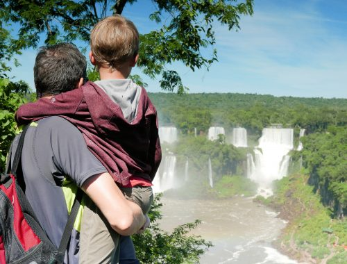 Iguazu with kids