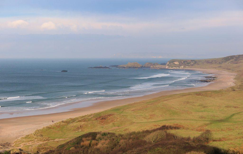 northern ireland beaches whiterock beach