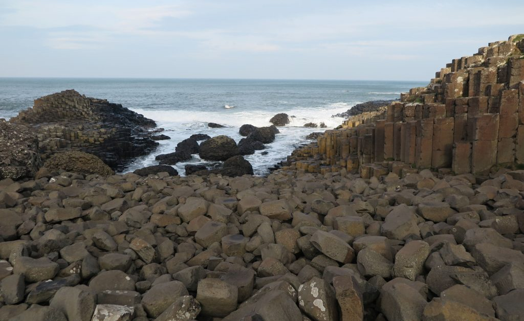 The Giants Causeway with kids