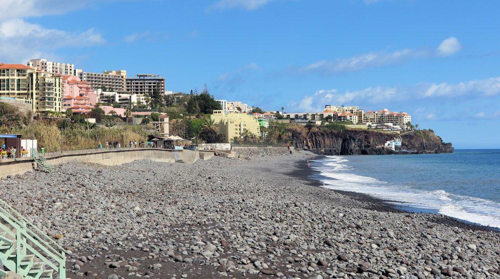 Funchal beach Madeira