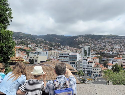 Funchal with kids