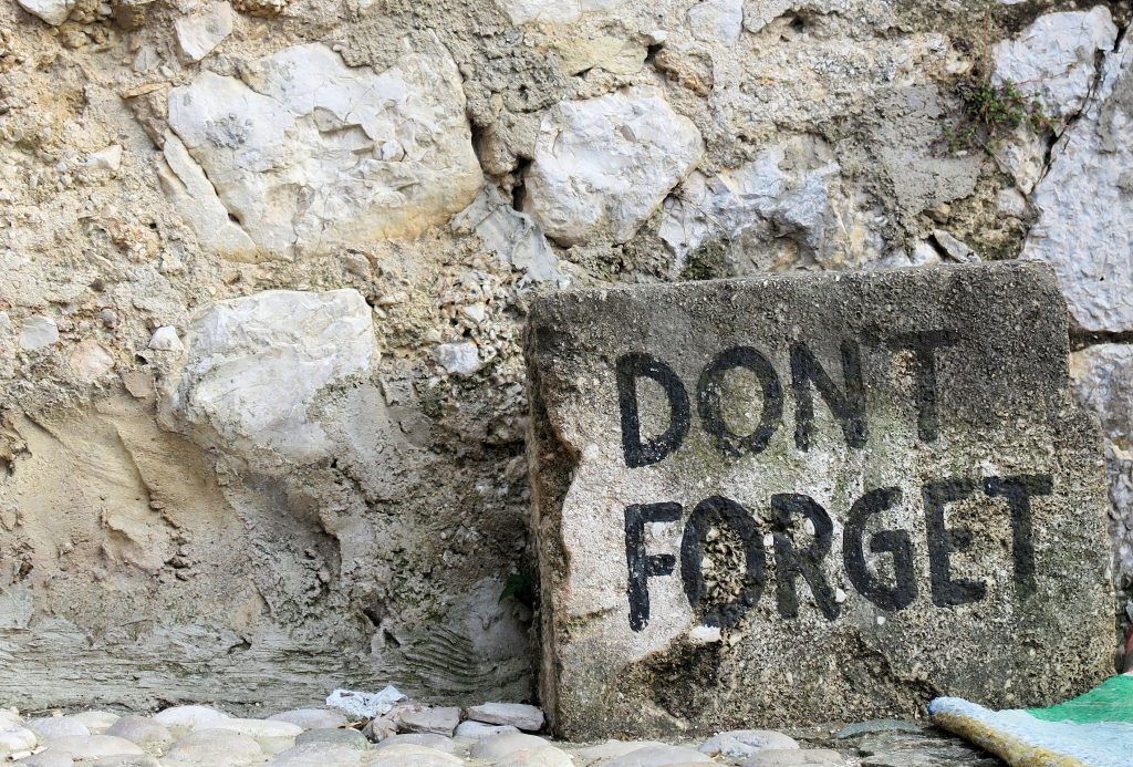 Don't forget stones Mostar