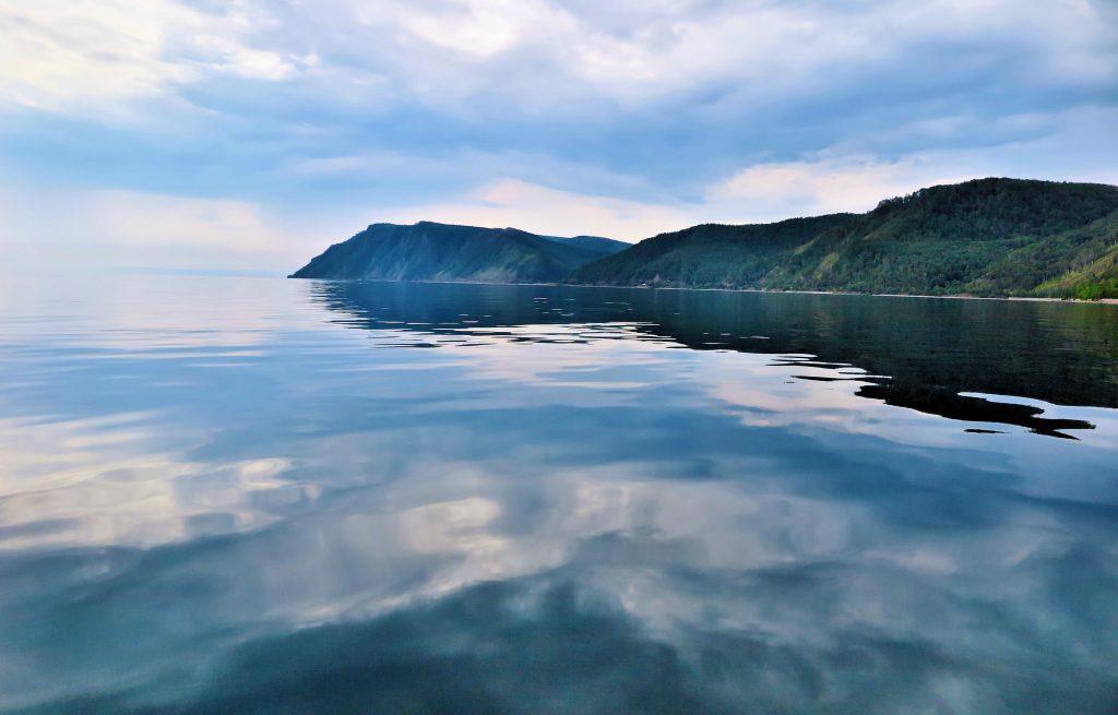 tranquil calm Lake Baikal Russia