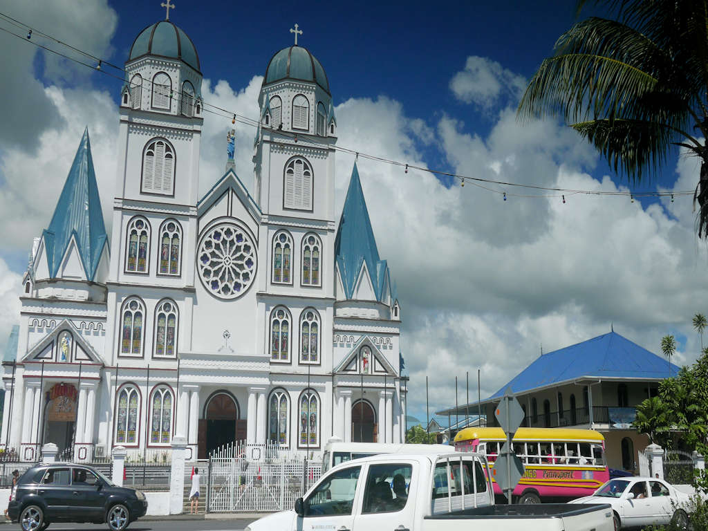 cathedral in apia samoa
