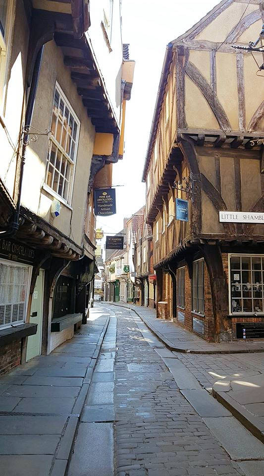 medieval buildings the Shambles york city centre