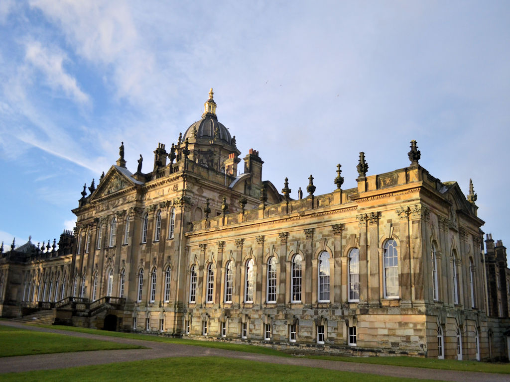 stately home Castle Howard Yorkshire